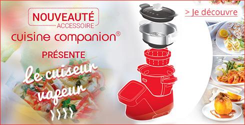 Darty moulinex cuisine companion - Recette cuiseur vapeur companion ...