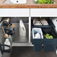 Meubles sous vier cuisine meuble sous vier cuisine sur - Rangement sous evier ikea ...