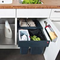 poubelle integrable table de cuisine. Black Bedroom Furniture Sets. Home Design Ideas