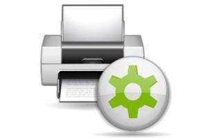paramètres imprimante