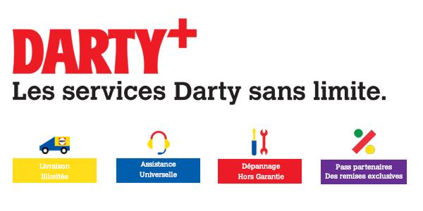 Darty Plus et Pass Partenaires