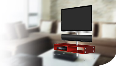 meuble tv pour accrocher ecran plat valdiz. Black Bedroom Furniture Sets. Home Design Ideas