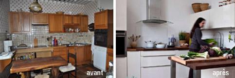 Avant apr s ils ont refait leur cuisine avec darty darty vous - Darty cuisine showroom ...