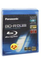 disque blu ray panasonic bd r dl 50 gb x2 lmbru50ae2fr. Black Bedroom Furniture Sets. Home Design Ideas