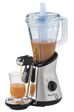 Se servir d'un blender : Smoothies, coktails, mousses soupes... P2524635A