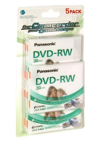 DVD 8 cm PANASONIC LM-RW30E5B