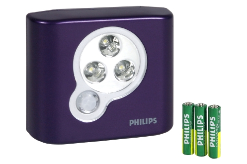 Lampe LED PHILIPS SPOT ON VIOLET 9.90 €