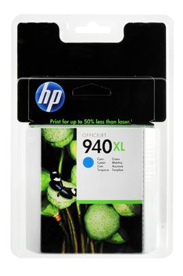 Cartouche HP 940 XL Cyan (C4907AE)