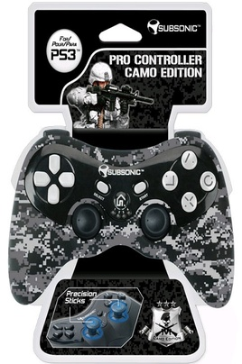 Accessoires PS3 SUBSONIC PS3-PRO CAMO GREY