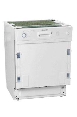 Lave vaisselle encastrable BRANDT VI 600 WE1 BLANC 379.00 €