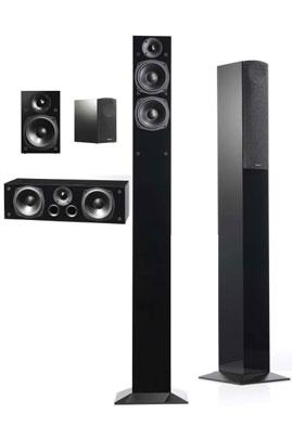 Pack d'enceintes AUDIO PRO BLACK STAR SYSTEM 5.0 599.00 €