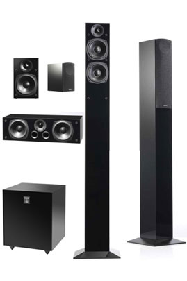 Pack d'enceintes AUDIO PRO PACK BLACK STAR 5.1 690.00 €